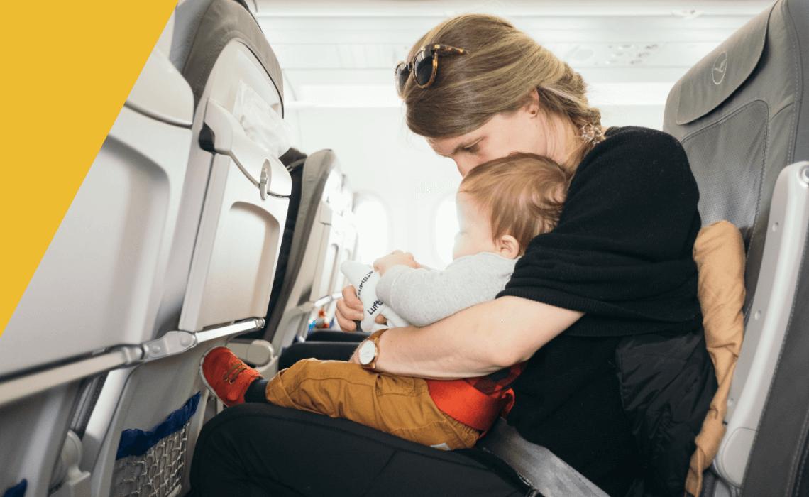repülés babával
